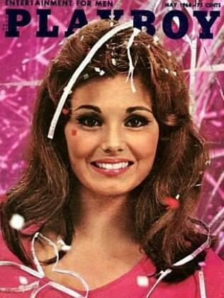 Victoria Rathgeb na capa da Playboy