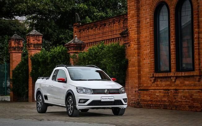 VW Saveiro ainda vende bem menos que a rival Fiat Strada, a líder do segmento, mas que não é o modelo modelo
