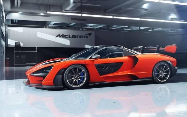 McLaren Senna:  apenas 500 unidades disponíveis no mundo e duas vendidas no Brasil, uma delas em Brasília (DF)