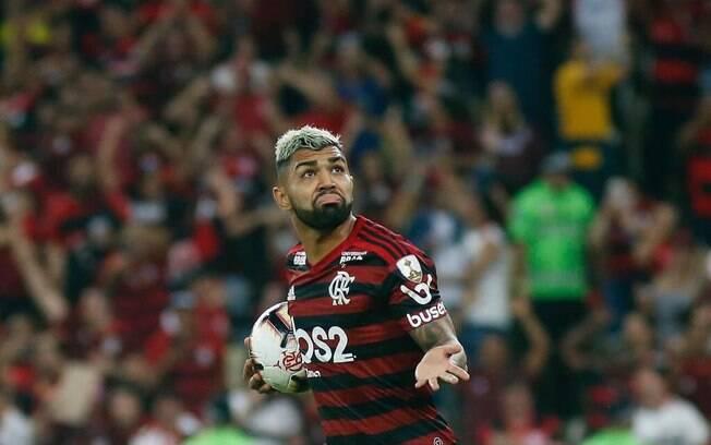 Gabigol fez dois para o Flamengo