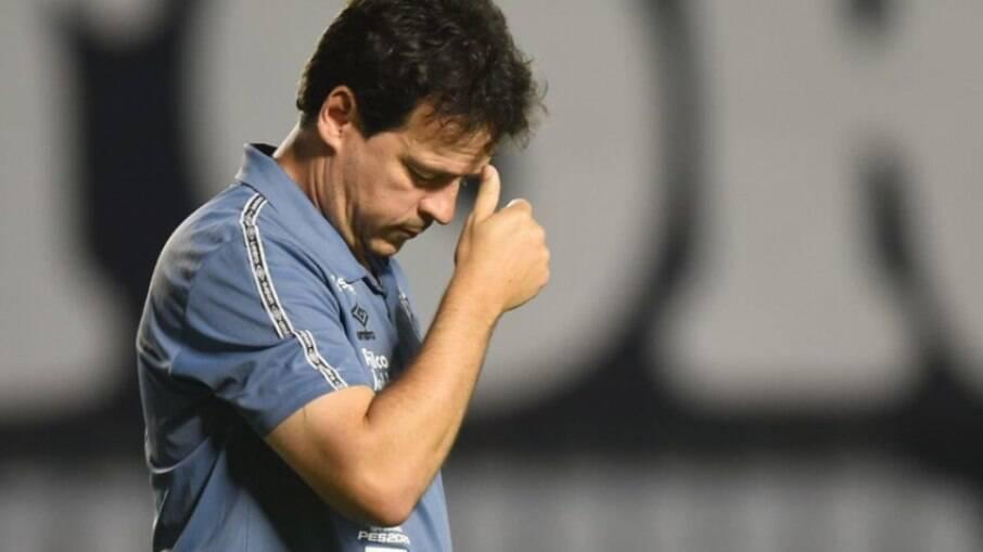Fernando Diniz não é mais técnico do Santos