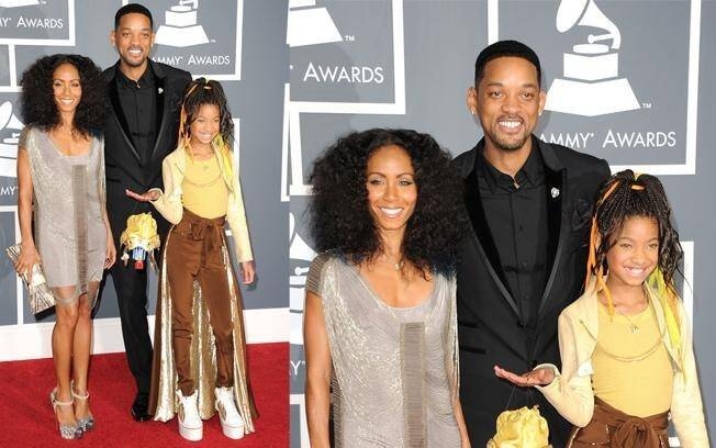 Jada Pinkett-Smith, Will Smith e Willow Smith