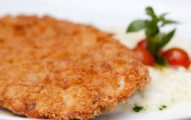 Foto da receita Filé à milanesa do restaurante Nou pronta.