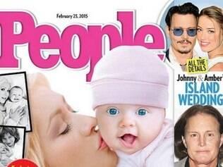 Primeira foto da filha de Christina Aguilera é divulgada