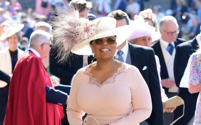 O casamento realizado no Castelo de Windsor, na Inglaterra, recebeu famosos como a apresentadora Oprah Winfrey