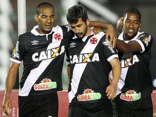 o Vila Nova saiu na frente, mas o Vasco empatou ainda no primeiro tempo e virou na etapa complementar