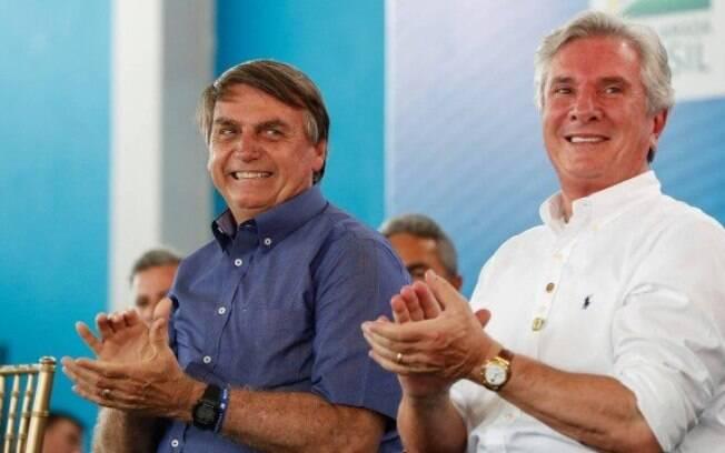 Jair Bolsonaro e Fernando Collor estiveram juntos, nesta quinta-feira, em Alagoas