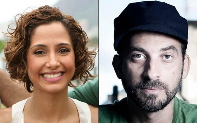 Camila Pitanga e Lucas Santtana