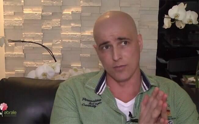 Reynaldo Giannechini fala pela primeira vez sobre câncer
