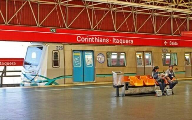 Estações de metrô terão funcionamento especial durante a Copa América