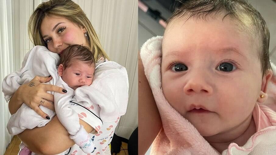 Virgínia Fonseca posta nova foto da filha