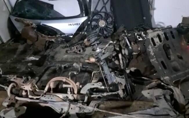 Polícia encontra desmanche de carros roubados em Campinas