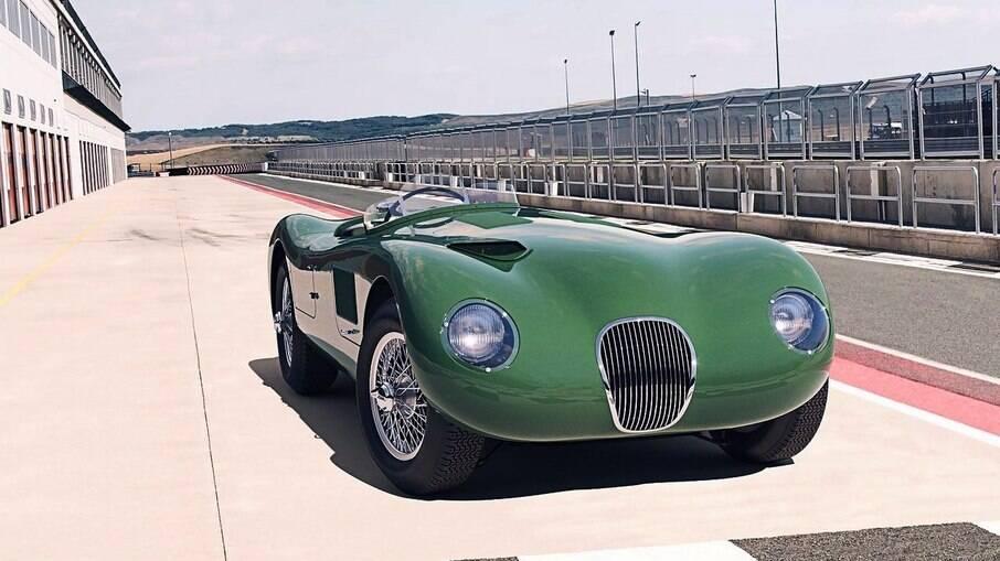 Jaguar C-Type venceu as 24 Horas de Le Mans, na França e terá algumas unidades produzidas novamente pela marca