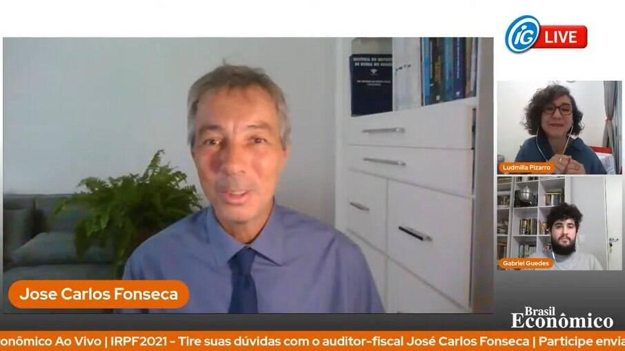 O auditor fiscal da Receita Federal, José Carlos Fonseca, foi o entrevistado da live do Brasil Econômico desta quinta-feira (18)