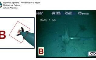 Familiares das vítimas do submarino argentino exigem o 'resgate e a verdade'
