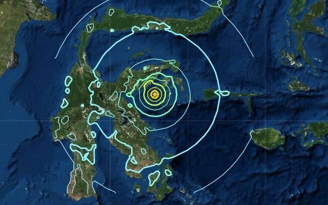 Terremoto aconteceu no arquipélago das Molucas, no leste do país
