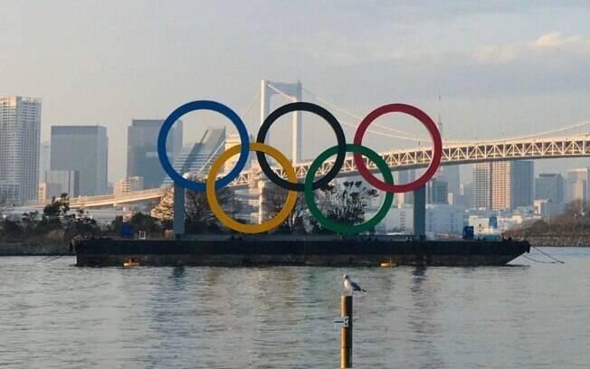 Tóquio se prepara para Olimpíada, que será realizado em julho e agosto deste ano
