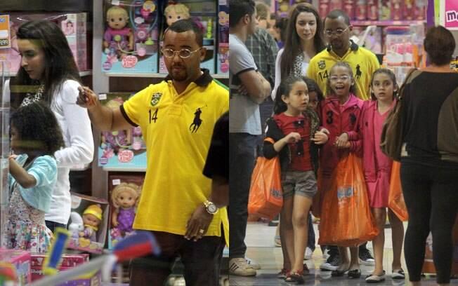 Dudu Nobre ganhou a guarda definitiva das filhas no final do mês de setembro