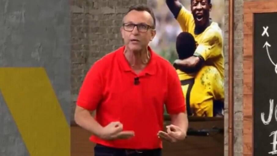 Neto dispara contra atual equipe do Corinthians
