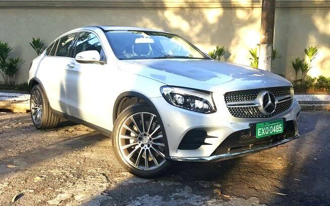 Mercedes-Benz GLC é baseado nos modelos da Classe C e chega com itens esportivos da AMG, como para-choques e rodas
