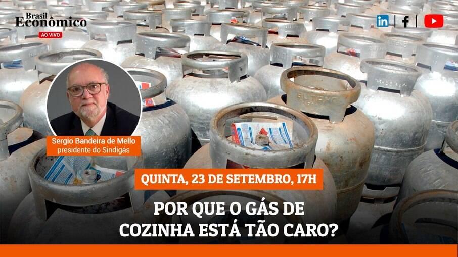 Brasil Econômico Ao Vivo - Por que o gás de cozinha está tão caro?