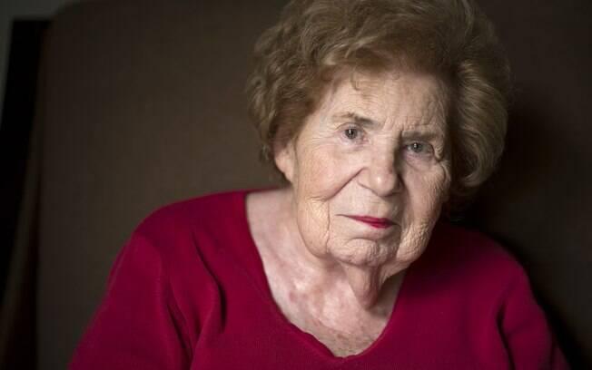 Miriam Zatinsky, 87: 'eu não me achava. Estava sofrendo muito'