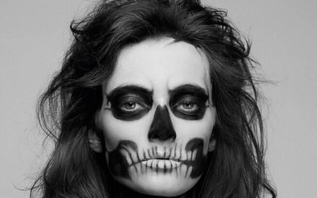 Zombie Girl é um clássico na maquiagem de Halloween