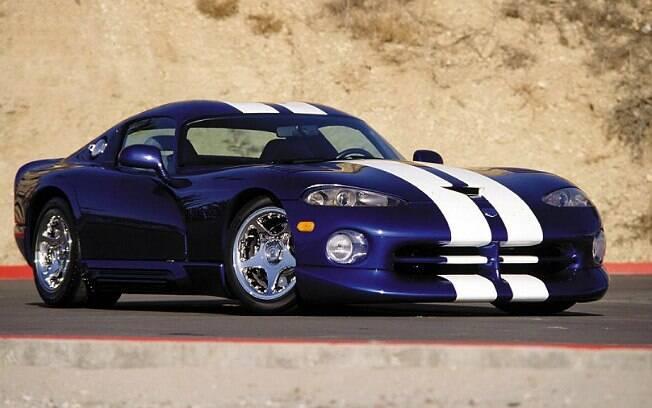 Dodge Viper GTS Coupe Concept de 1994. Chrysler ordenou a destruição de todos