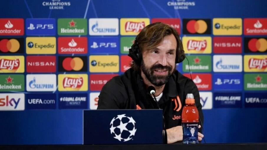 Pirlo, técnico da Juventus
