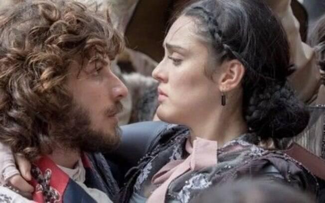 Anna e Joaquim se beijam nesta segunda-feira (29)