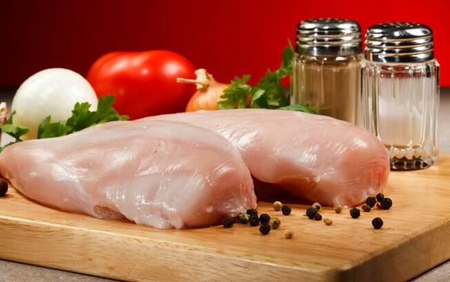 Filé de frango também entra na dieta detox