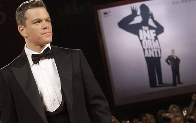 Matt Damon diz ter sido mal interpretado em comentário sobre atores gays