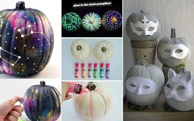 Se você for fazer uma festa, pode decorá-las de forma mais ousada, com tintas neon e até máscaras
