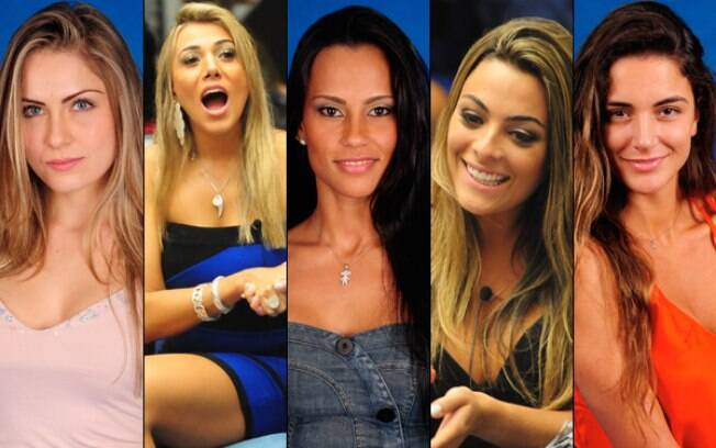 Renata, Fabiana, Kelly, Monique ou Laisa? Quem é a mais gata do BBB12?