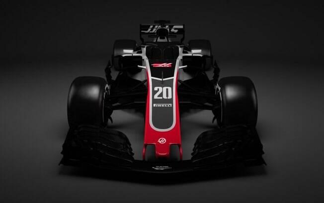 Haas divulga carro para a temporada 2018 da Fórmula 1