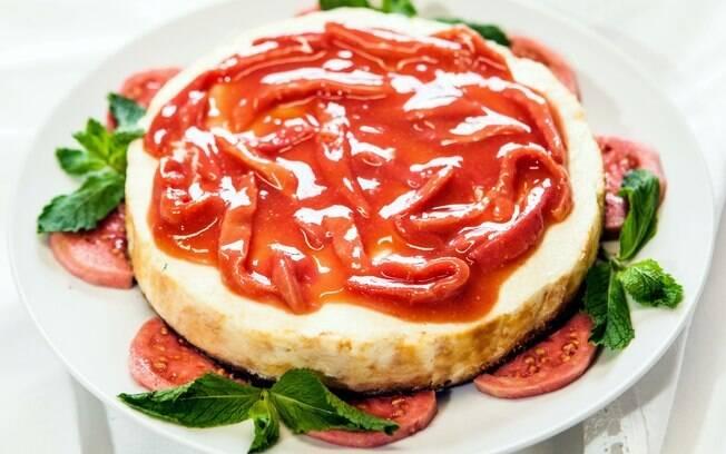Cheesecake de goiaba