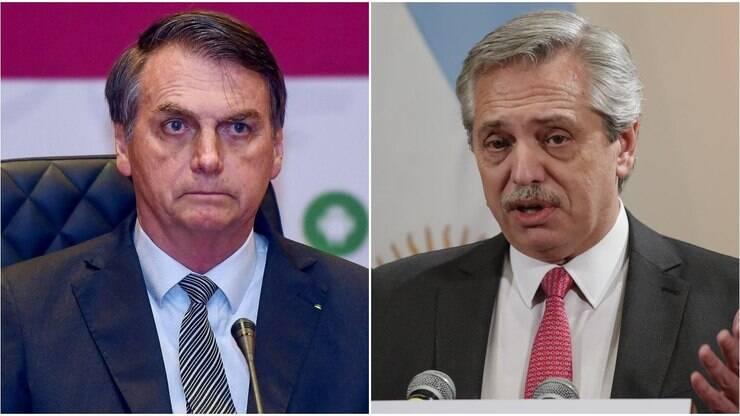 Fernandéz faz carta para Bolsonaro desejando uma rápida recuperação – Último Segundo