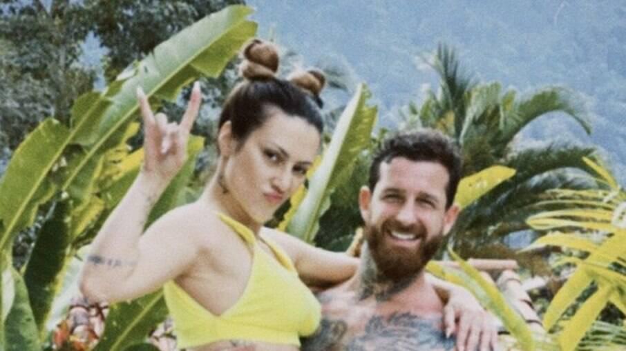 Cleo e o namorado, Leandro D'Lucca