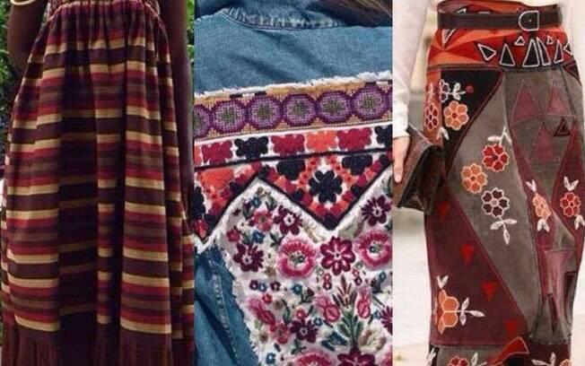 Resgate ao trabalho manual e os aspectos artesanais são apostas para a moda primavera/verão