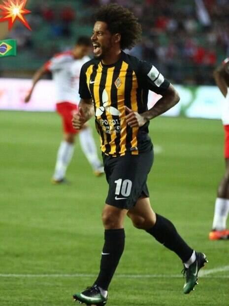 Meia-atacante brasileiro Isael joga no futebol cazaque