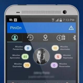 PiniOn dá dinheiro para usuários opinarem sobre marcas, produtos e serviços