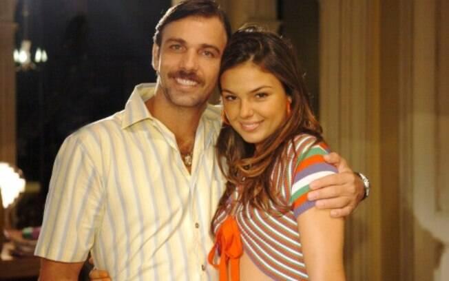 Isis Valverde e Marcelo Faria se conheceram em 2008, nas gravações da novela Beleza Pura