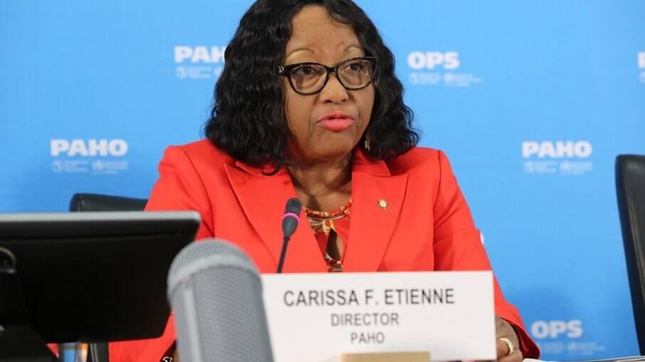 Carissa Etienne, diretora da Organização Pan-Americana da Saúde