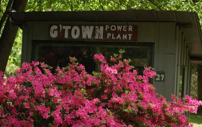 Germantown: pequena vila há apenas meia hora de Hudson