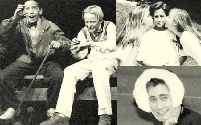 Em 1995, Jake Gyllenhaal já dava indícios de que ia seguir a carreira de ator. E em 1993, a de galã também