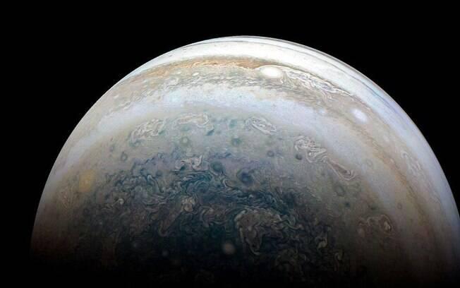 Júpiter (foto) e Saturno irão se alinhar pela primeira vez desde a idade média