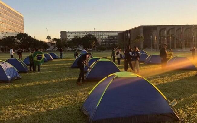 Acampamento do 300 pelo Brasil