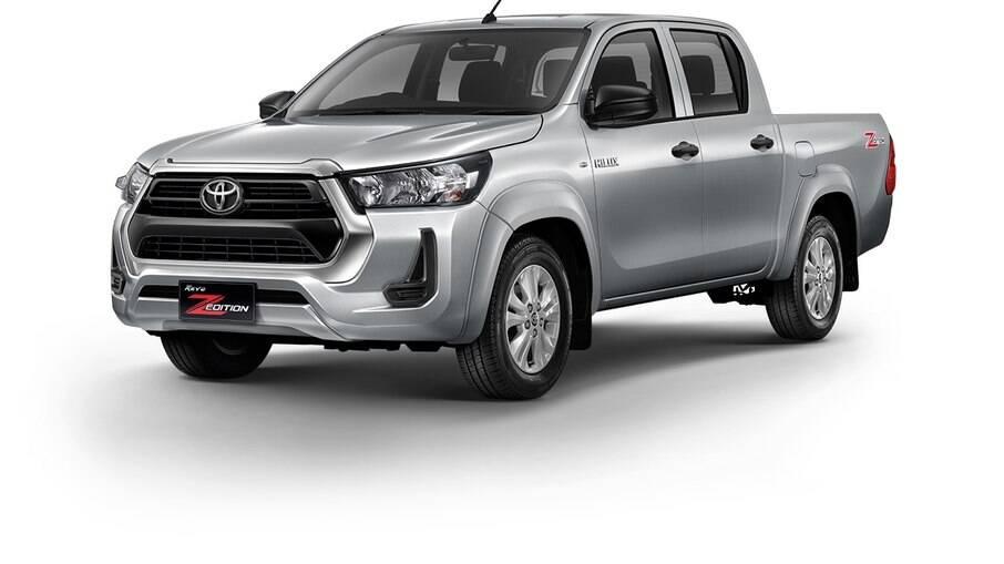Toyota Hilux Revo Z Edition: combina suspensão que deixa menor vão livre do solo com tração 4x2