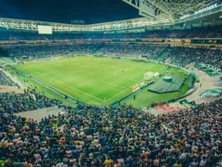 No novo estádio, palmeirenses acompanharam a derrota para o Sport por 2 a 0