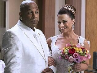 Xana e Naná se casam. Veja fotos